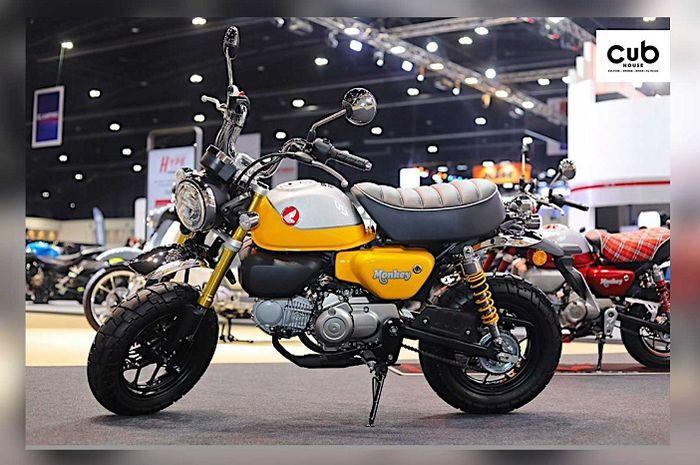 Motor baru Honda Monkey 2021 resmi dirilis pakai mesin baru, harganya bikin kepo.