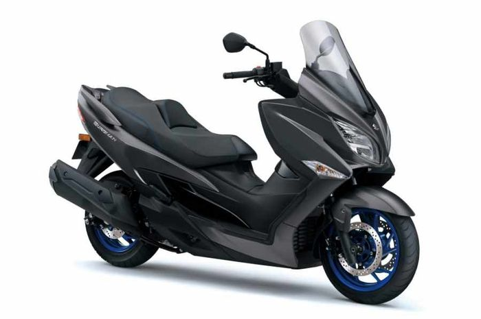 Pesaing Yamaha XMAX dari Suzuki meluncur, punya mesin lebih jumbo.
