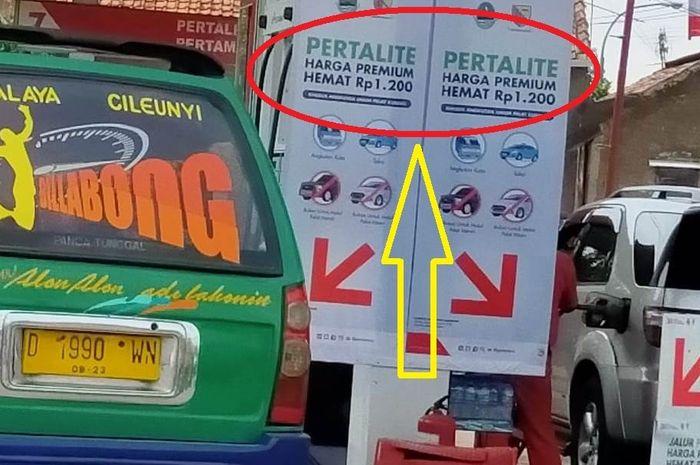 Di beberapa kota Premium khusus sudah dilakukan promonya