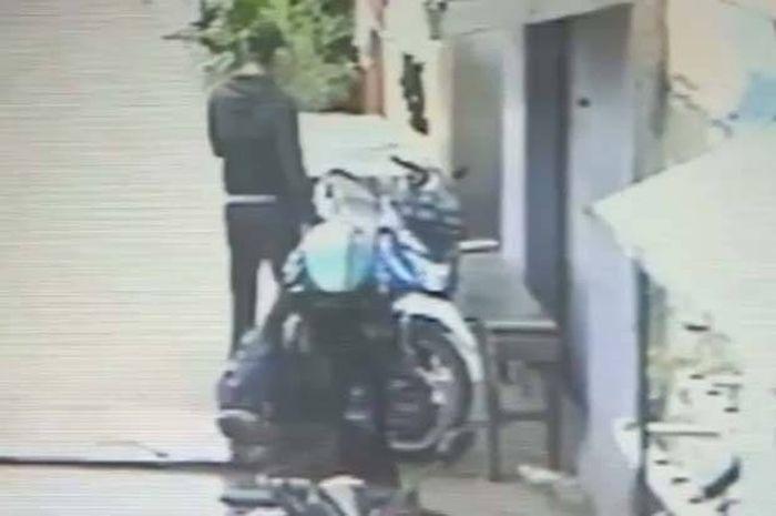 Dua pelaku pencurian motor ojol di Jakarta Utara