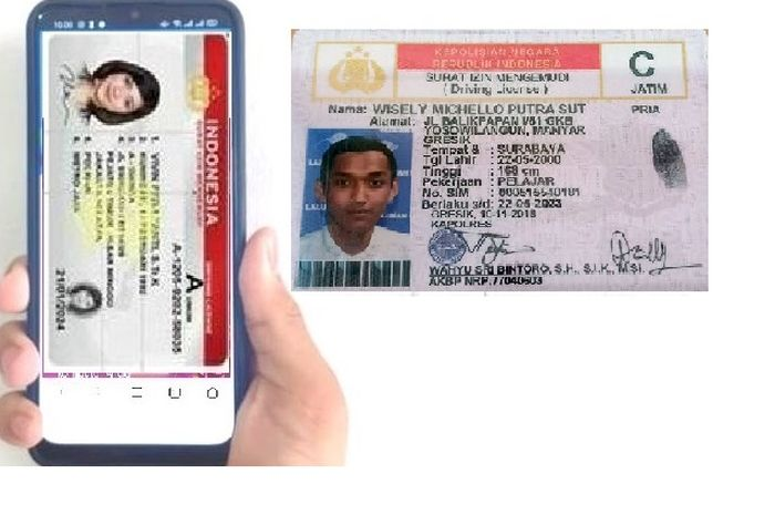 Ketahui langkah dan tahapan pembuatan SIM online dari HP