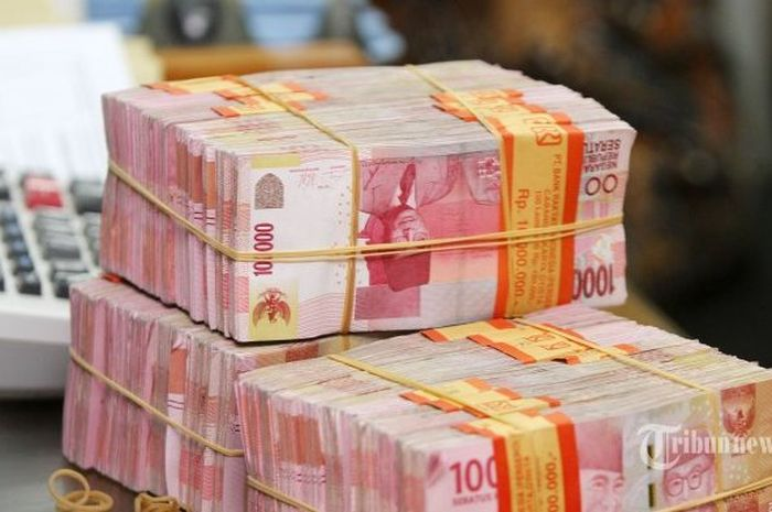 Uang ilustrasi kredit atau pinjaman tanpa agunan dari pemerintah
