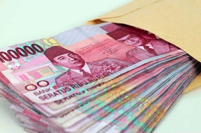 Uang ilustrasi pinjaman tanpa agunan dari pemerintah