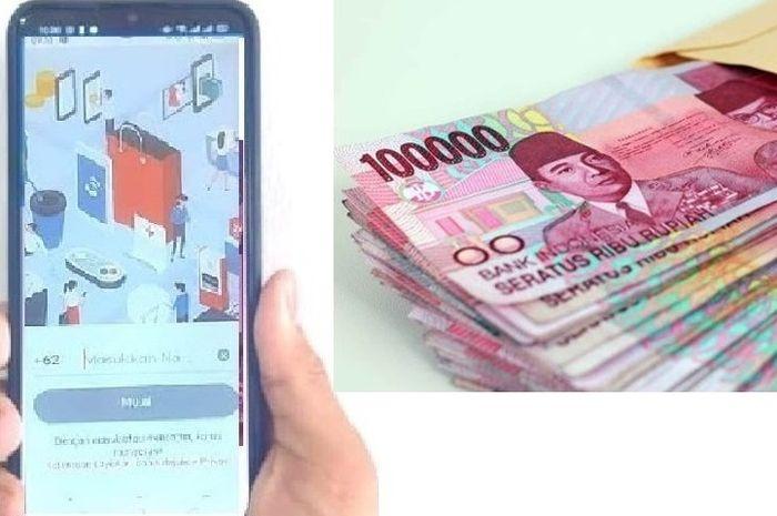 Isi aplikasi dan selfie dari HP untuk pengajuan pinjaman online tanpa agunan