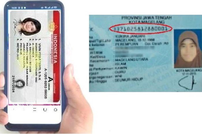 Perpanjang SIM Online tetap input nomor KTP