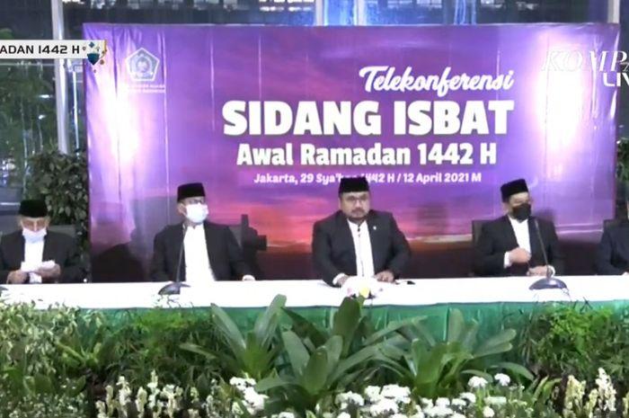 Penetapan 1 Ramadhan 1442 H