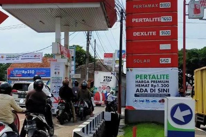 Harga bensin jelang puasa. Antar daerah bisa berbeda