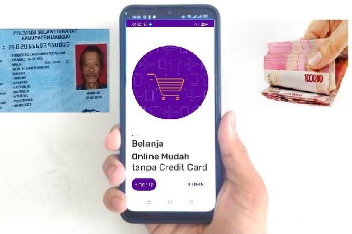 Pinjaman online dari BRI hanya isi aplikasi dari HP ada KTP dan mau selfie