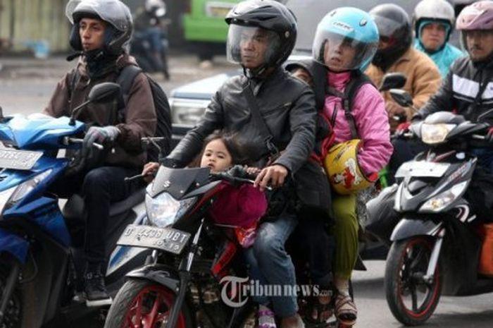 Ilustrasi. Nekat Bepergian ke Luar Kota di Masa Larangan Mudik Lebaran 2021, Pemotor Akan Diberikan Sanksi Ini
