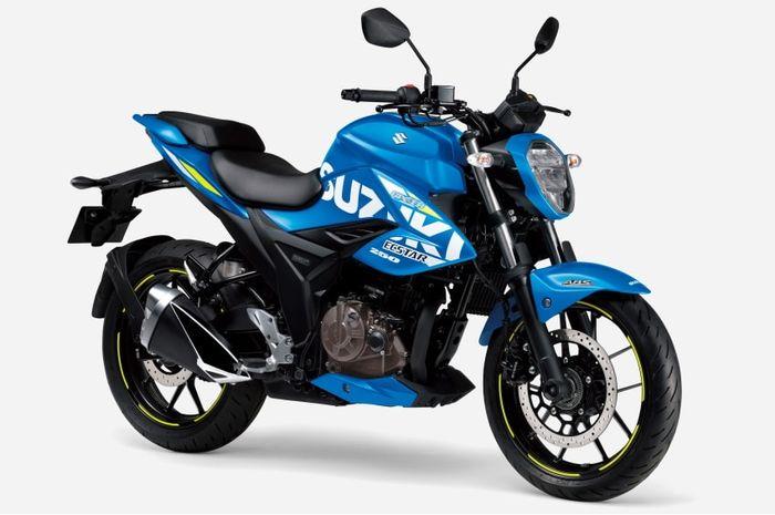 Naked bike baru Suzuki meluncur, mirip Yamaha Byson tapi mesin 250 cc.