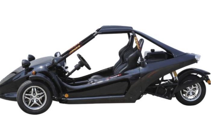 Harga bisa tebus 3 Honda BeAT, motor roda tiga ini punya mesin 250 cc mirip Ninja 250.