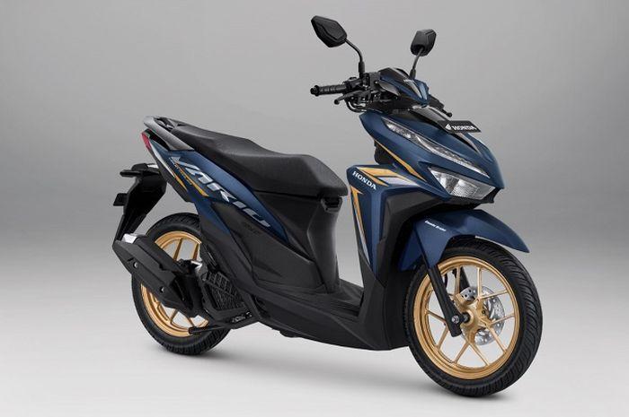Motor baru Honda Vario 125 makin kece pakai warna baru, segini harganya.