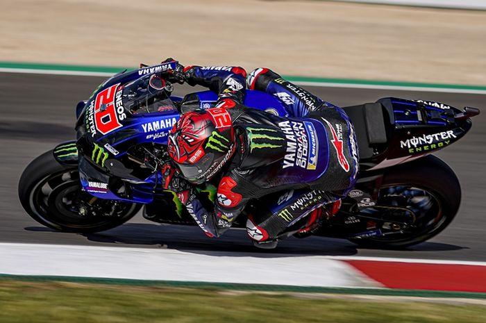 Fabio Quartararo di kualifikasi MotoGP Portugal 2021