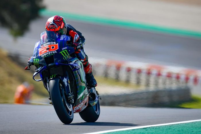 Hasil FP4 MotoGP Portugal 2021, Fabio Quartararo masih menjadi yang tercepat, sementara itu Valentino Rossi tercecer.