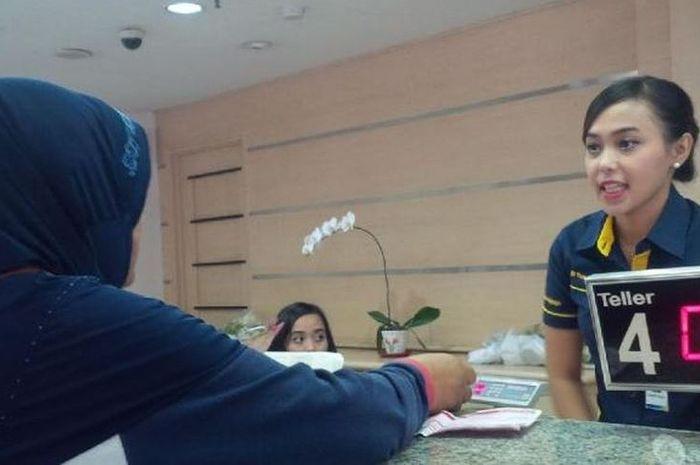 Foto ilustrasi pinjaman di bank Mandiri