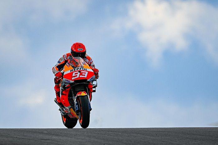 Baru comeback di MotoGP, Marc Marquez salip poin Valentino Rossi.