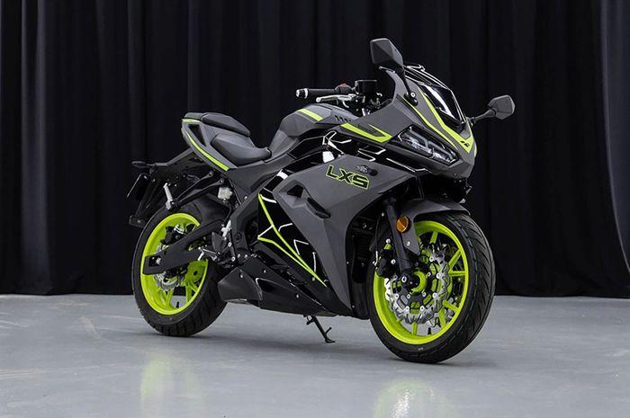 Lexmoto LXS 125 2021, motor sport baru yang siap jegal Yamaha R15 dan Honda CBR150R.