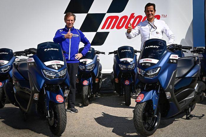 Wow, Yamaha NMAX jadi skutik official MotoGP, mulai di Portimao.