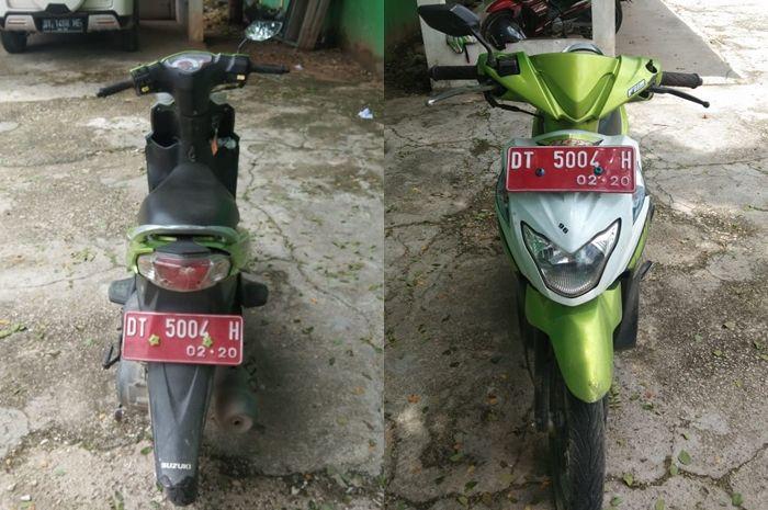 Motor bekas murah saingan Honda BeAT lagi dilelang, STNK dan BPKB lengkap.