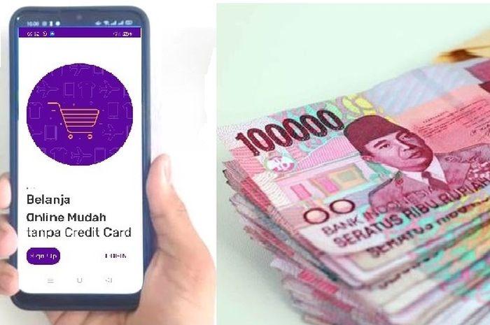 Pinjaman online Ceria dari Bank BRI isi aplikasi dari HP