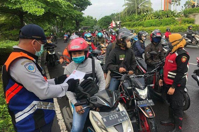 Ilustrasi. Mau mudik ke Jawa Timur siap-siap ketemu penyekatan, begini kata polisi.