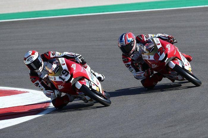 Hasil kualifikasi Moto3 Prancis 2021, Andi Gilang dan tim Indonesia di posisi segini.