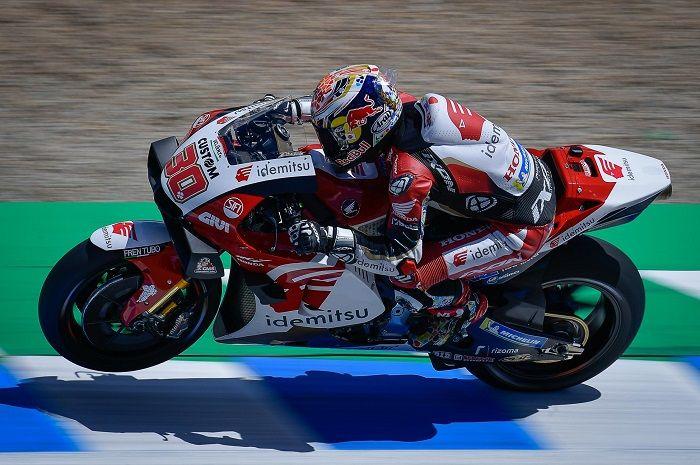 Pembalap LCR Honda Idemitsu, Takaaki Nakagami tercepat di FP3 MotoGP Spanyol 2021, Valentino Rossi segini.