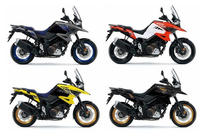 Motor adventure Suzuki V-Strom 1050 dapat pilihan warna baru, harganya bikin melongo bro.