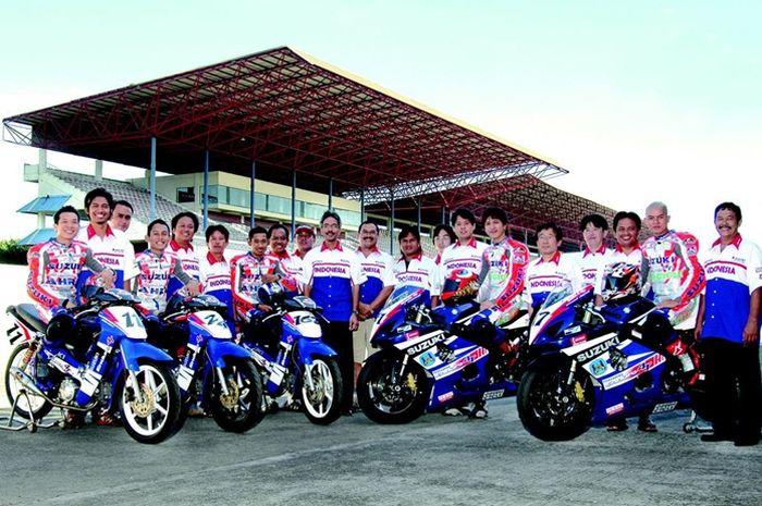 Tim Suzuki Indonesia di balap FIM ARRC tahun 2004