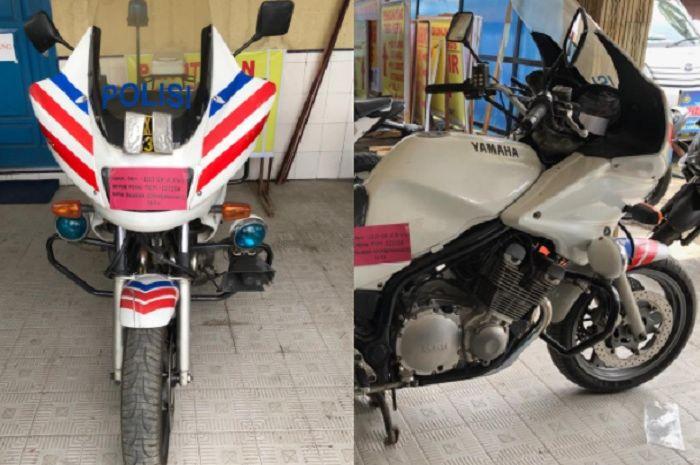 Moge Yamaha XJ900P bekas motor Patwal dilelang, harganya cuma segini bro.