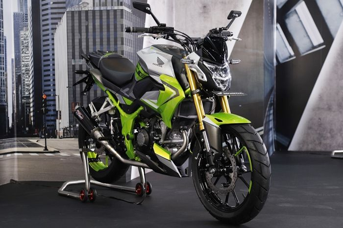 Honda CB150R Streetfire 2021 modifikasi Urban Sport dari RAW