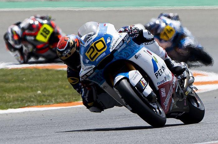 Klasemen CEV Moto2 2021 usai ronde Valencia, pembalap Indonesia Dimas Ekky masuk lima besar