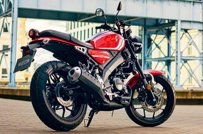 Yamaha XSR 125 pakai basis MT-125 Eropa
