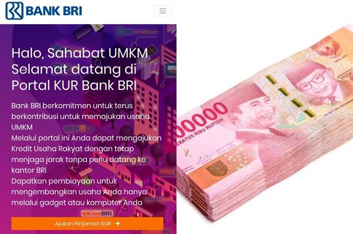 Ilustrasi ajukan pinjaman online Rp 100 juta tanpa agunan.