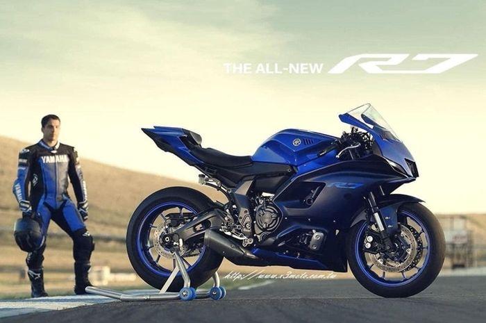 Bocor Foto Motor Baru Yamaha R7, Moge Harga Ekonomis Spek Superbike -  Motorplus