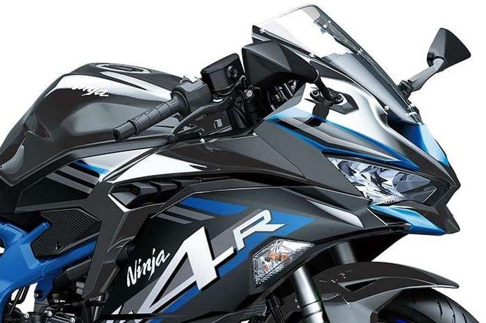 Kawasaki Ninja ZX-4R jadi kakak Ninja 250 4 silinder