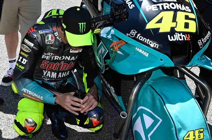 MotoGP Catalunya 2021 menjadi penentuan karir pembalap tim Petronas Yamaha SRT, Valentino Rossi di MotoGP?