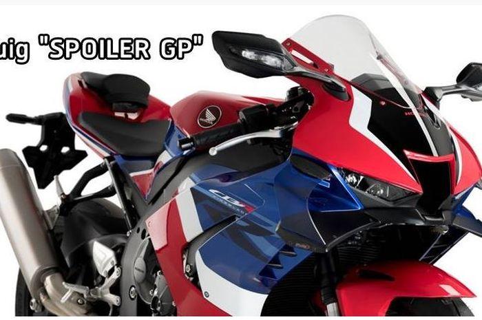 Puig rilis spoiler custom ala MotoGP untuk motor sport fairing.