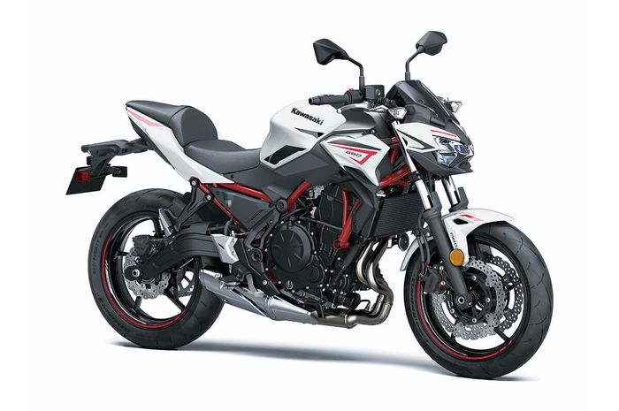 Naked bike baru 650 cc Kawasaki meluncur, warna lebih sporty.