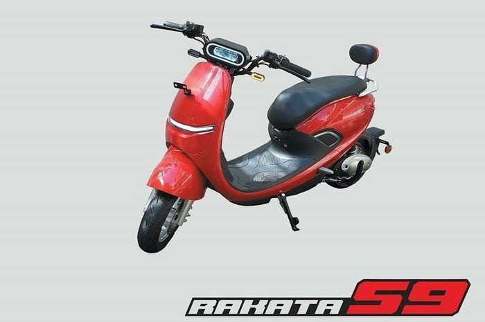 Harga motor listrik Rakata S9, bodi kompak cocok untuk jarak dekat.