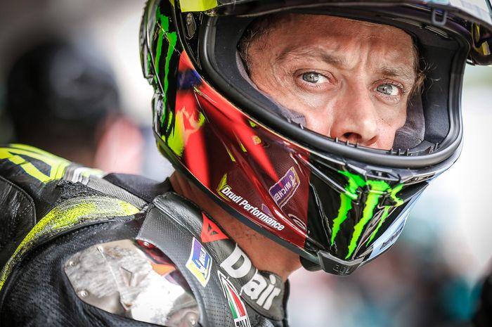Geger, surat kabar Spanyol, El Periodico menyebut Valentino Rossi tidak akan selesaikan musim MotoGP 2021.