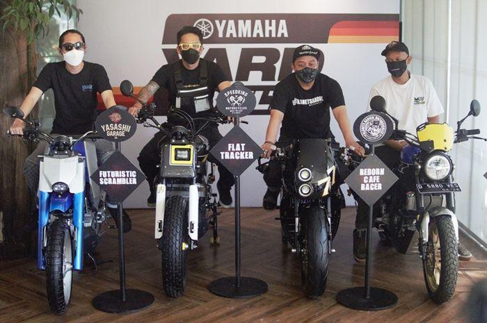 Builder Yard Built Bandung dengan Yamaha XSR 155 custom
