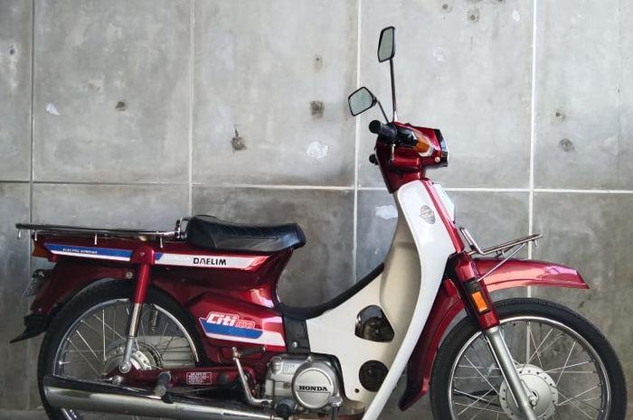 Lelang Honda Daelim Citi 100 Bersama MotoFlow