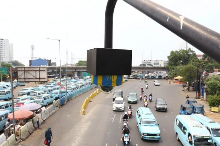 Ilustrasi CCTV untuk  tilang elektronik (e-TLE)