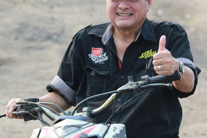 Tjahyadi Gunawan, pemilik Genta Auto & Sport, mau pesertanya sedikit jika mau jalan eventnya tetap b