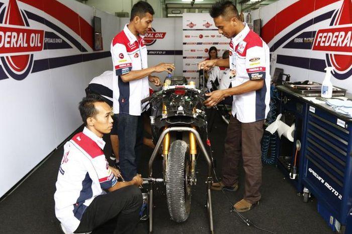 Mendapat pengalaman dari motor besutan Dimas Ekky