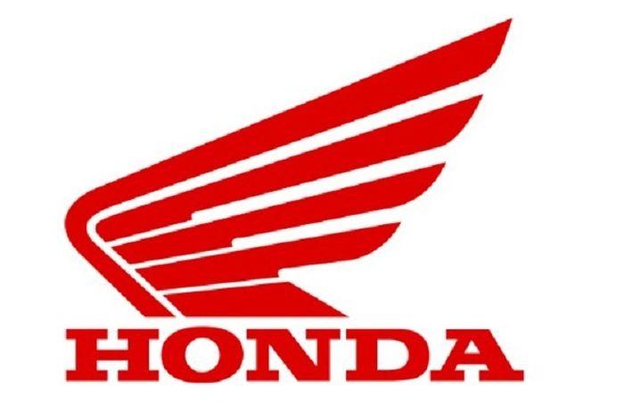 Sayap mengepak, logo motor Honda.