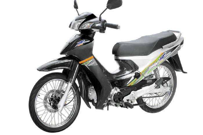 Sejarah Kawasaki Kaze. Kawasaki Kaze R 125 (2005)