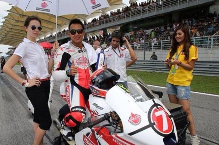 Doni Tata Pradita saat berada di Moto2 tahun 2013 silam