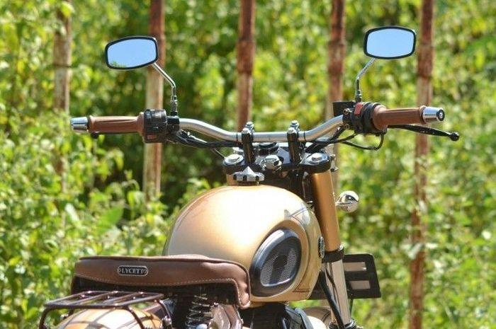 Yamaha Scorpio Bergaya Klasik ala Royal Enfield.